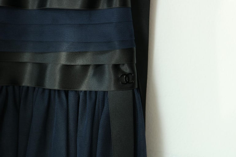 Women's Chanel Runway Ribbon Cocktail Dress  For Sale