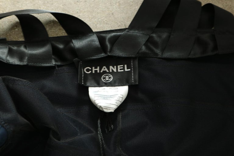 Chanel Runway Ribbon Cocktail Dress  For Sale 2