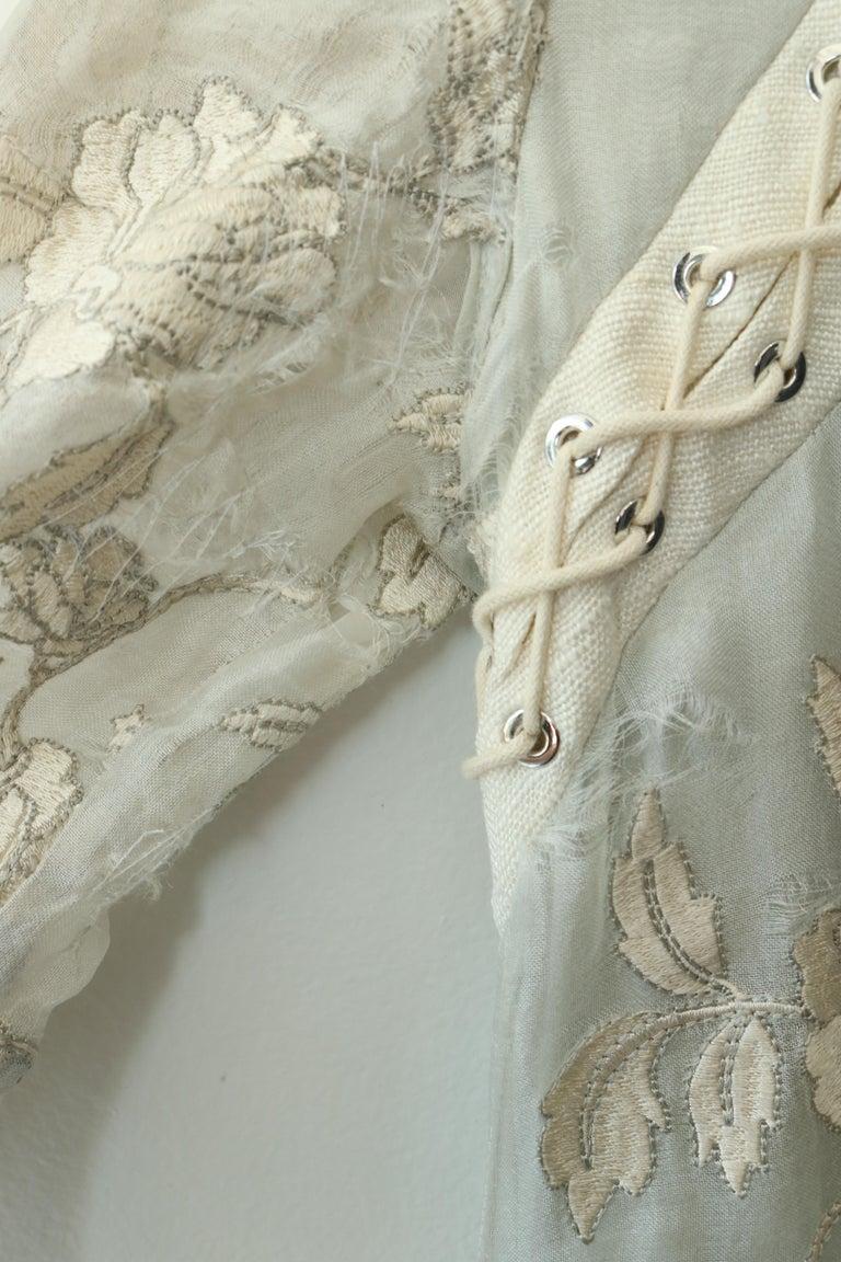 Women's Zimmermann Eyelet Trimmed Gown  For Sale