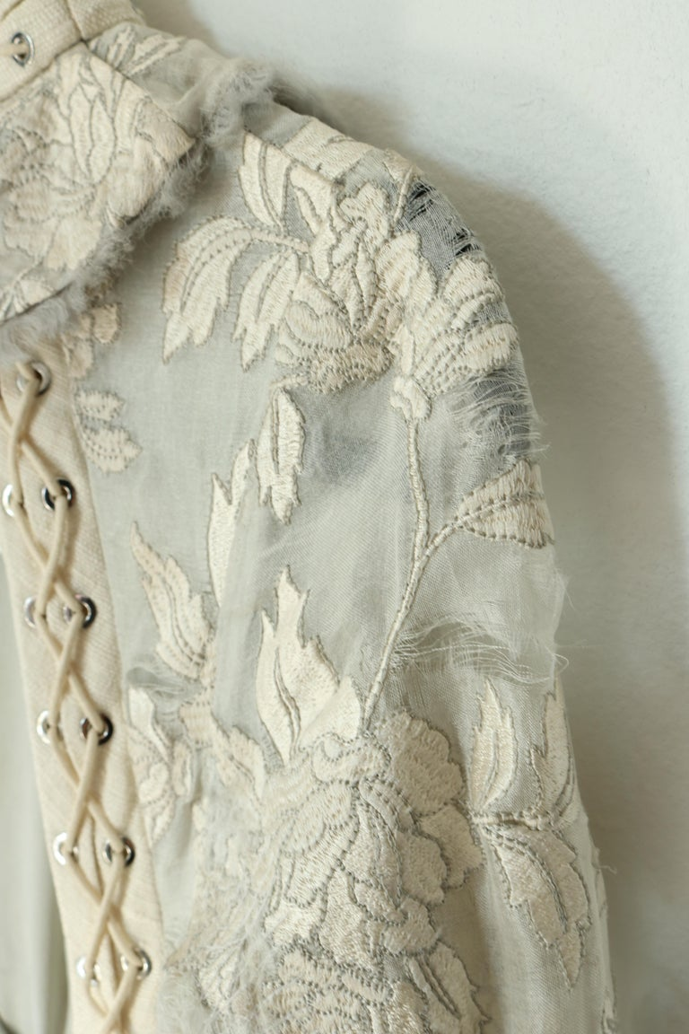 Zimmermann Eyelet Trimmed Gown  For Sale 1