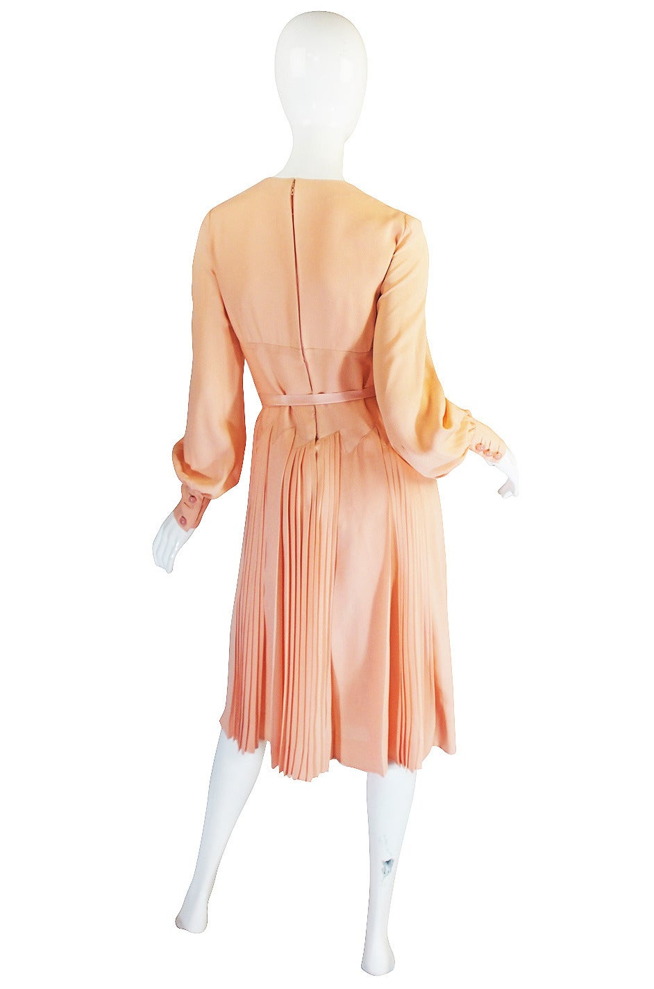 A w 1973 christian dior haute couture silk day dress for for Dior couture dress price