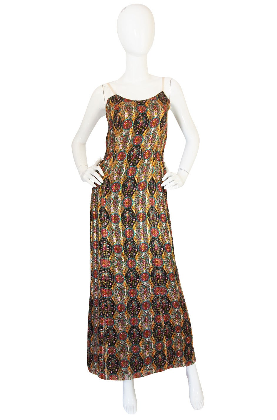 1974 true haute couture chanel silk chiffon dress at 1stdibs for Haute couture dress price