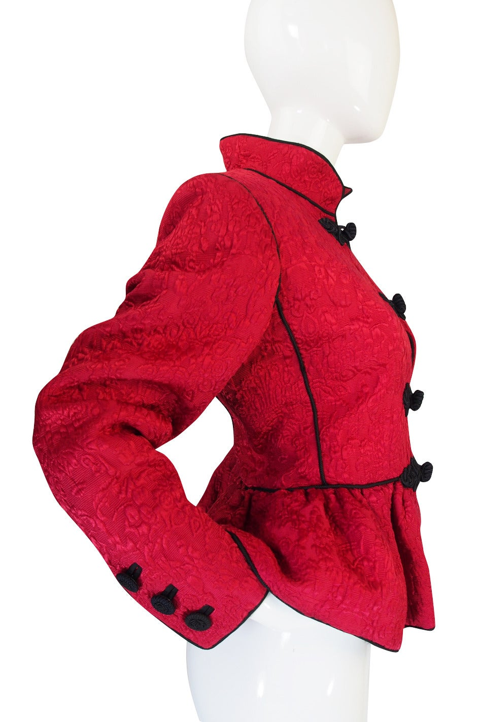 c1977-78 Yves Saint Laurent Chinoiserie Jacket 5