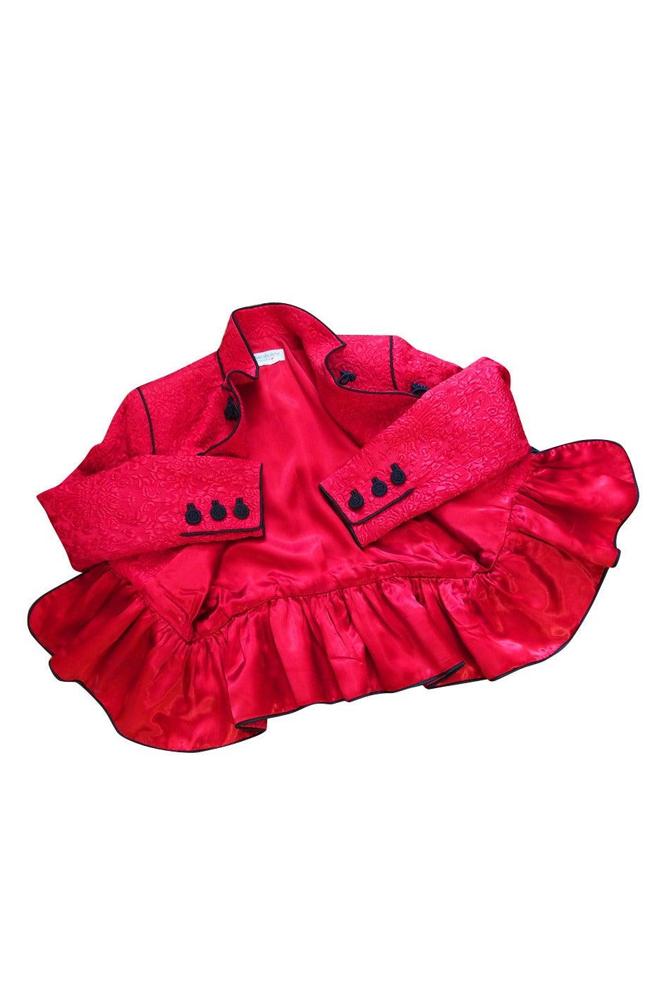 c1977-78 Yves Saint Laurent Chinoiserie Jacket 4