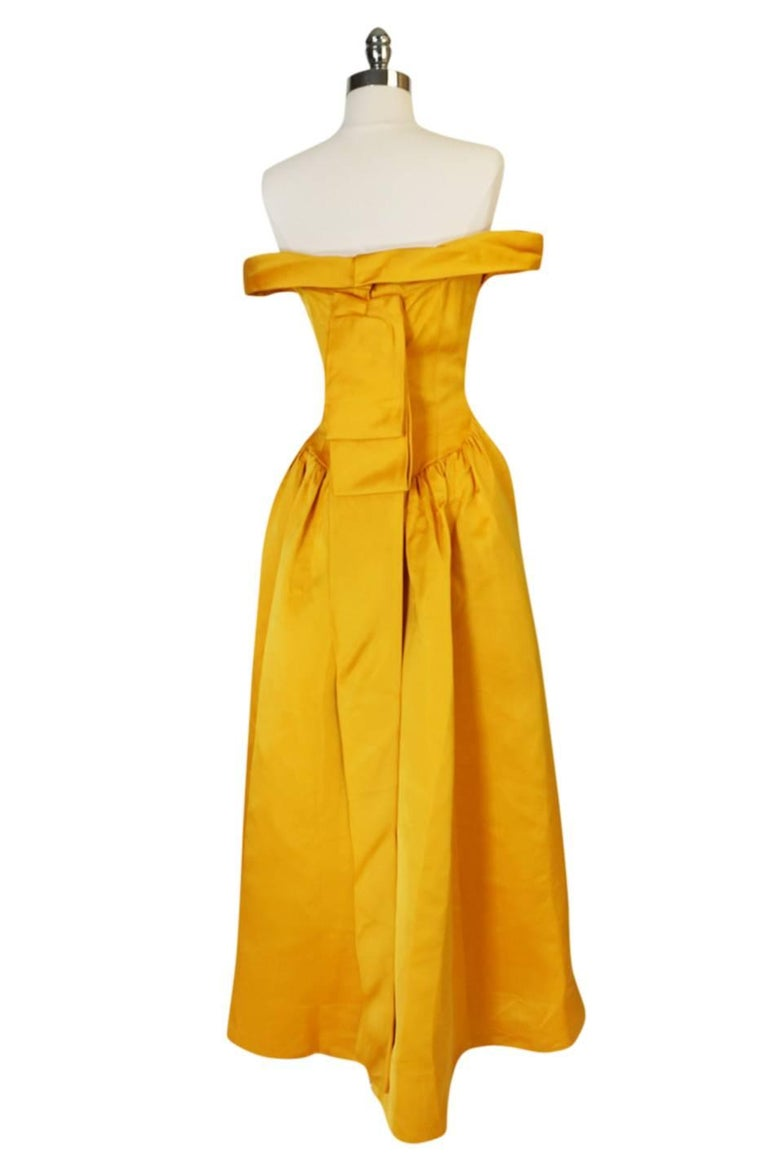 The Balenciaga Haute Couture atelier opened in 1937, closed briefly from 1940 -1945 and then reopened until Cristobal's retirement in 1968. This gown was made in the Paris atelier for the 1962 season and its twin currently resides in the Balenciaga