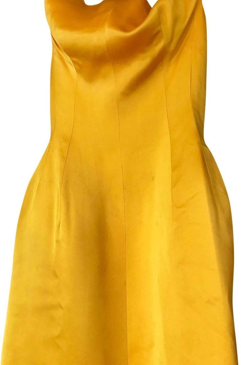 Balenciaga Haute Couture Book Piece Silk Sculpted Gown, 1962  For Sale 1