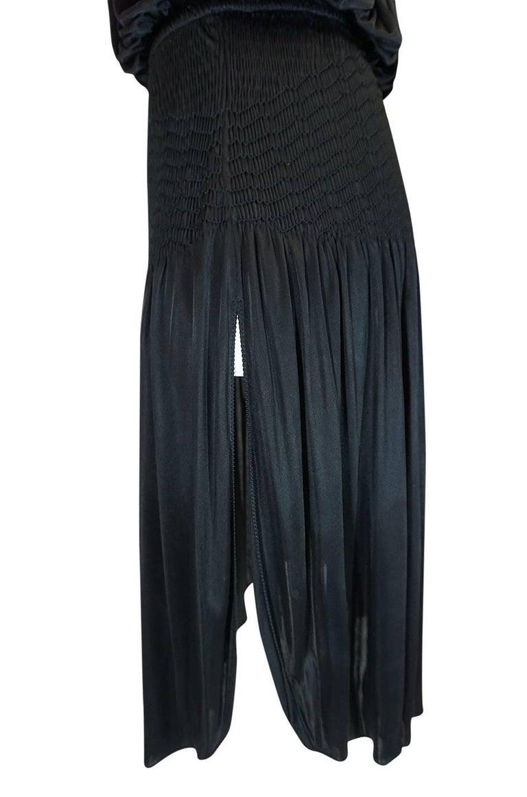 Look 42 S/S 2004 Chloe By Phoebe Philo Black Runway Dress For Sale 4