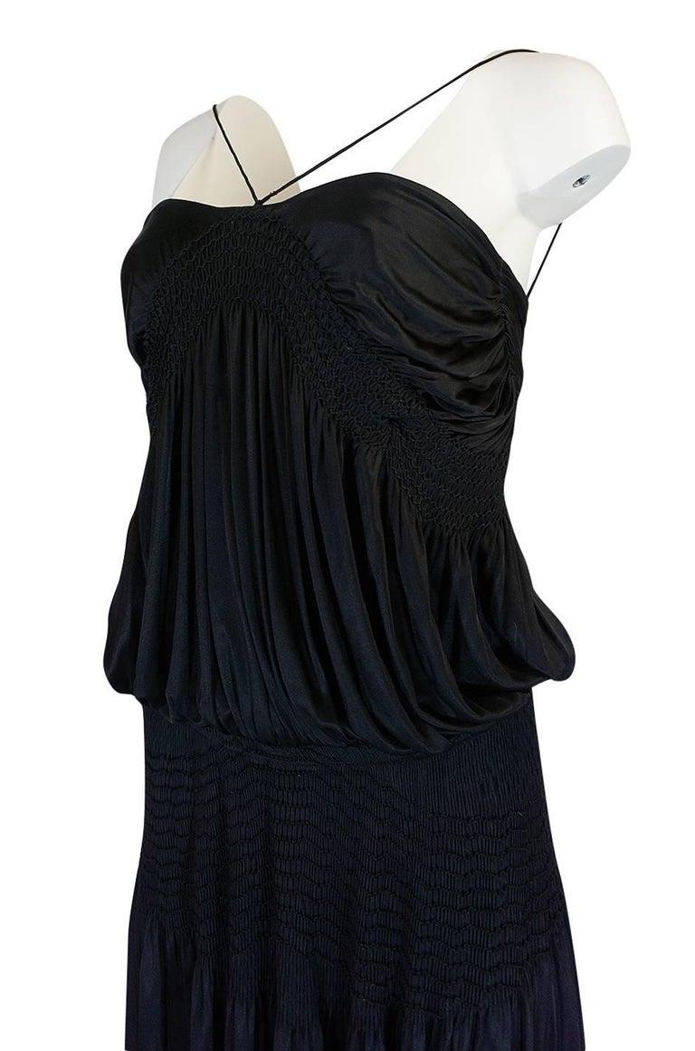 Look 42 S/S 2004 Chloe By Phoebe Philo Black Runway Dress For Sale 3