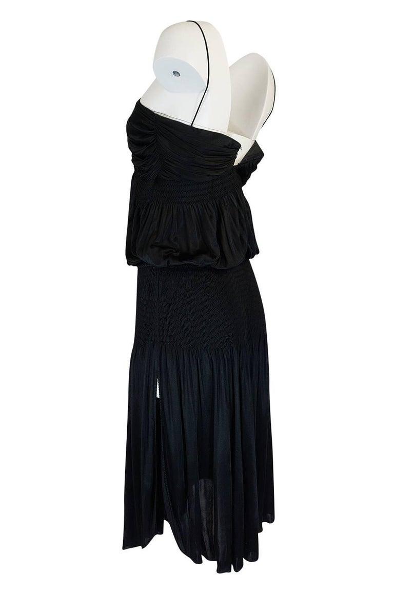 Look 42 S/S 2004 Chloe By Phoebe Philo Black Runway Dress For Sale 1