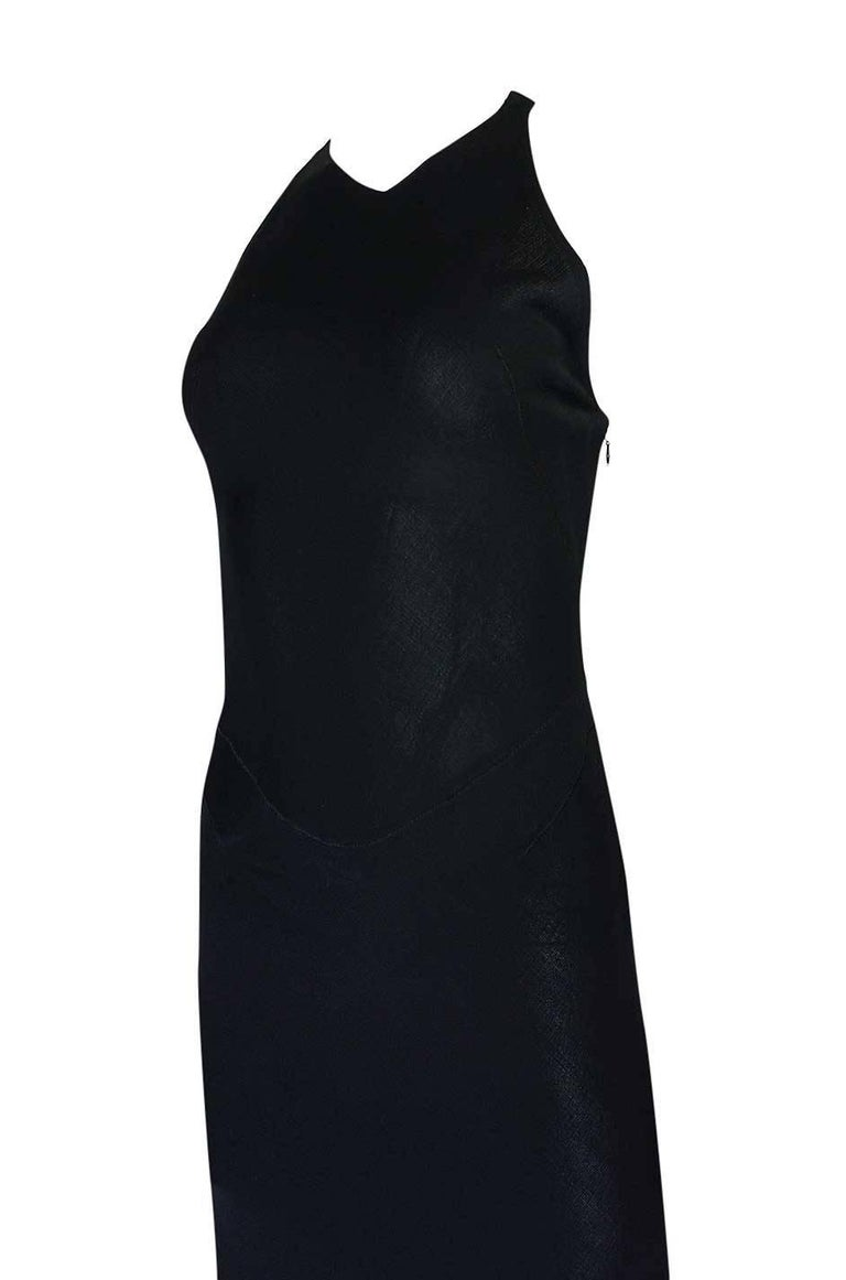 Documented F/W 2001 Azzedine Alaia Couture Runway Dress In Excellent Condition For Sale In Toronto, ON