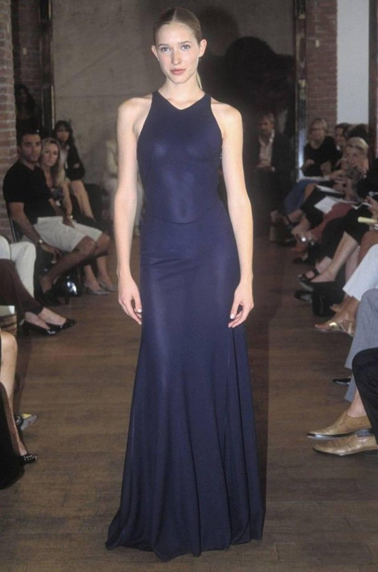 Documented F/W 2001 Azzedine Alaia Couture Runway Dress For Sale 3