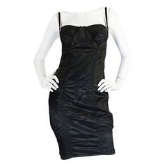 S/S 1992 Rare Dolce & Gabbana Lingerie Corset Bustier Dress