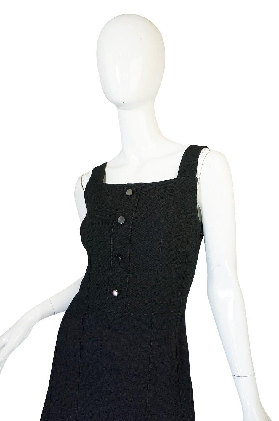 Women's 1960s Courreges HyperBole Twirling Skirt Sleeveless Dress For Sale