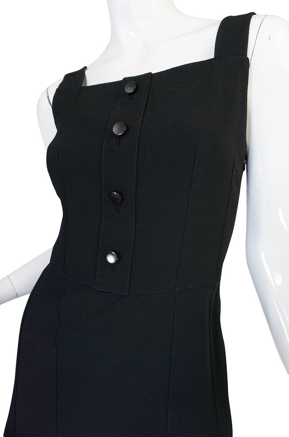 1960s Courreges HyperBole Twirling Skirt Sleeveless Dress For Sale 2