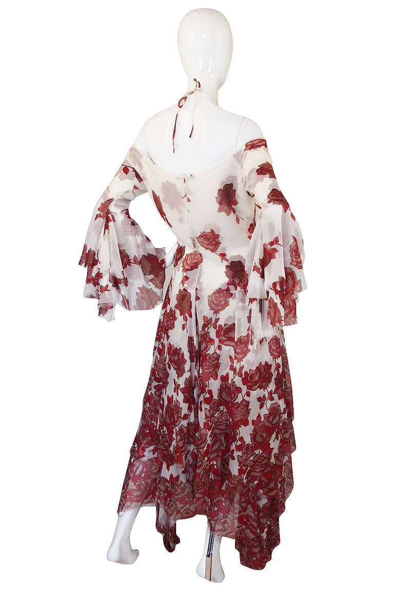 """S/S 2002 Alexander McQueen """"Dance of the Twisted Bull"""" Dress 2"""