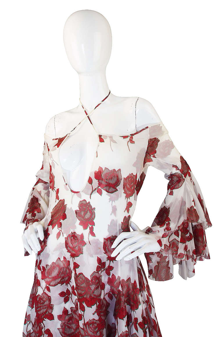 """S/S 2002 Alexander McQueen """"Dance of the Twisted Bull"""" Dress 4"""
