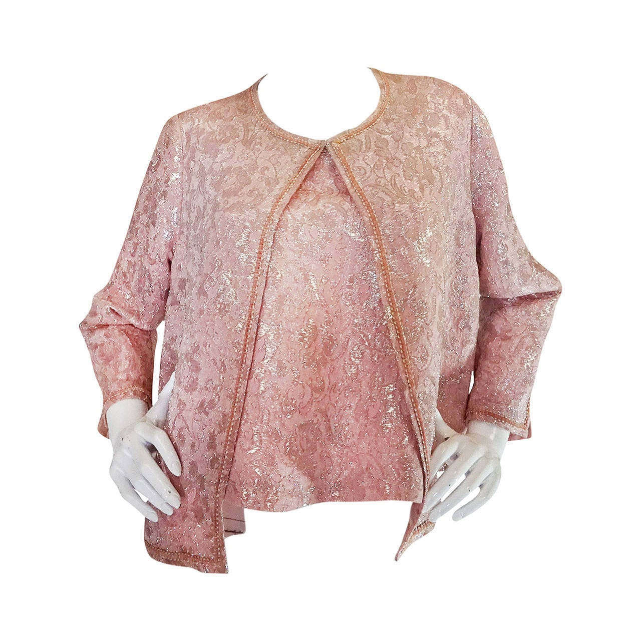 1962 chanel numbered haute couture jacket and shell at 1stdibs for Haute couture jacket