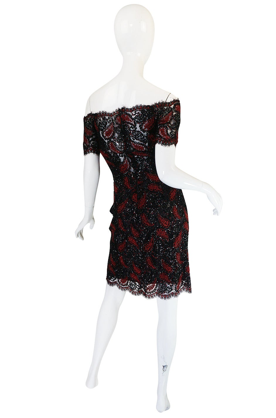 1980s Densely Beaded Fine 'Koos Couture' Dress 2