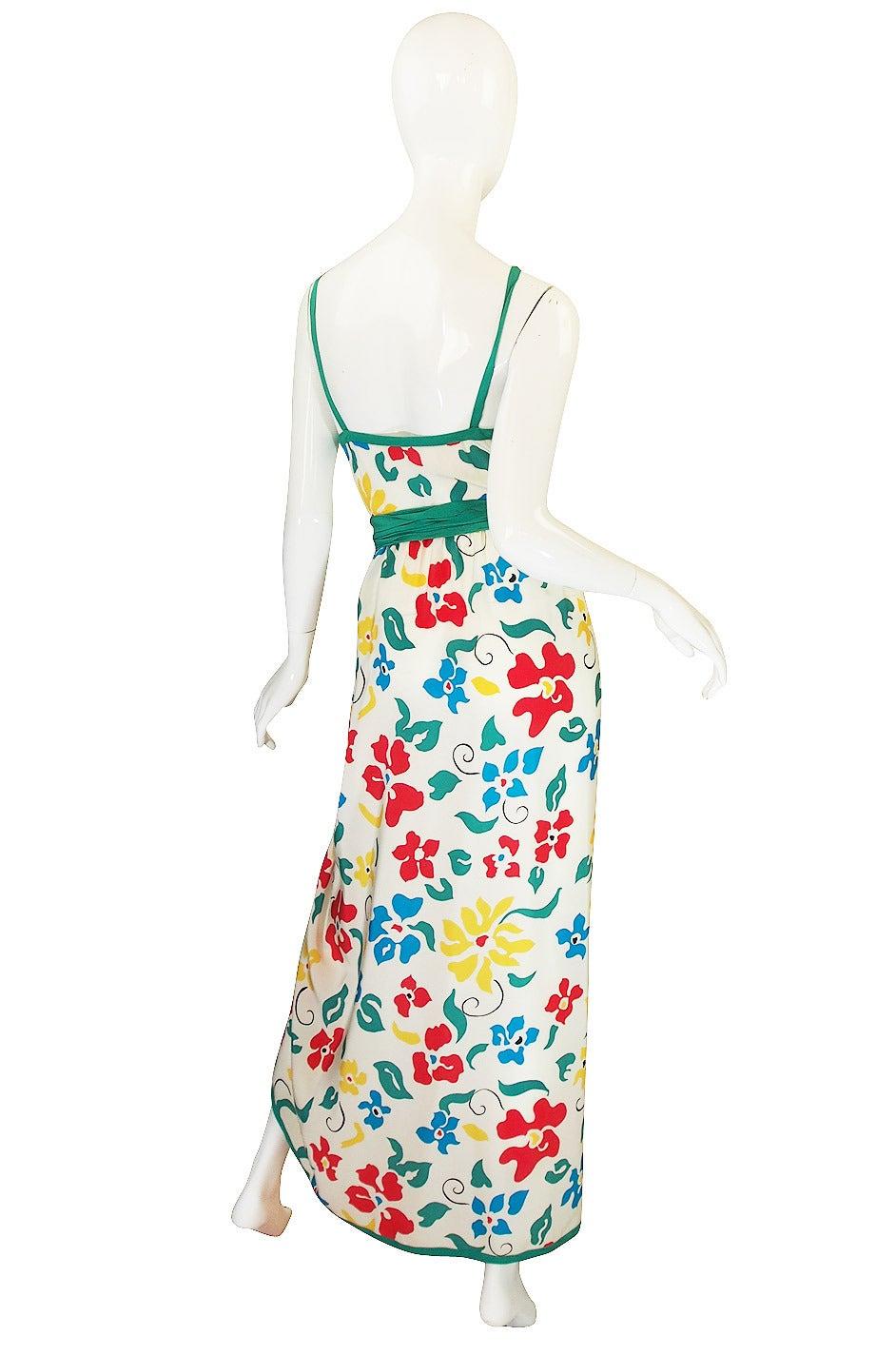 1979 Oscar De La Renta Dress as Seen in Vogue 2