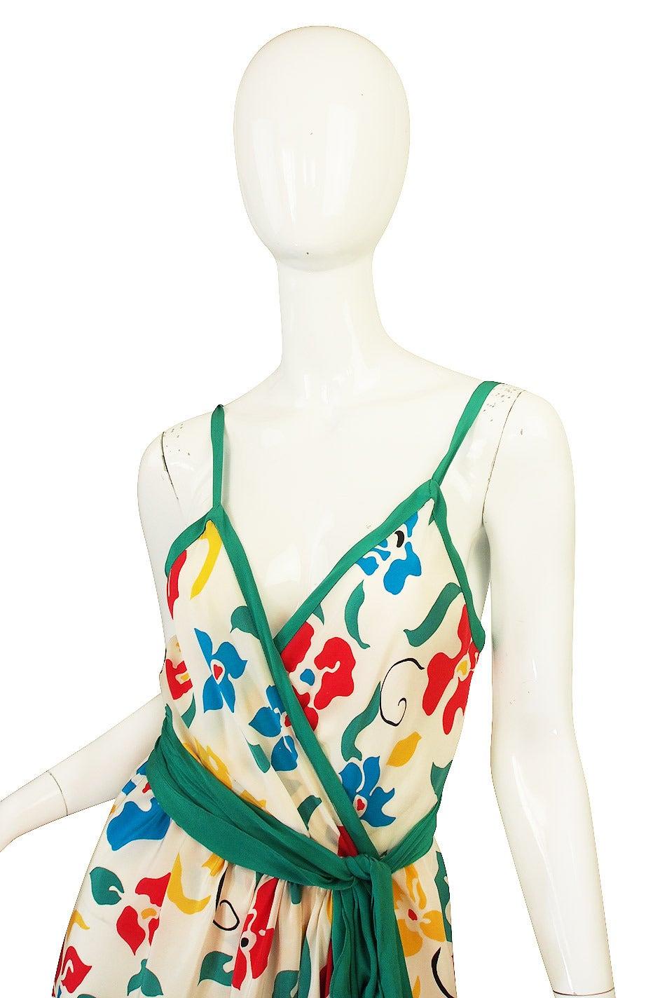 1979 Oscar De La Renta Dress as Seen in Vogue 4