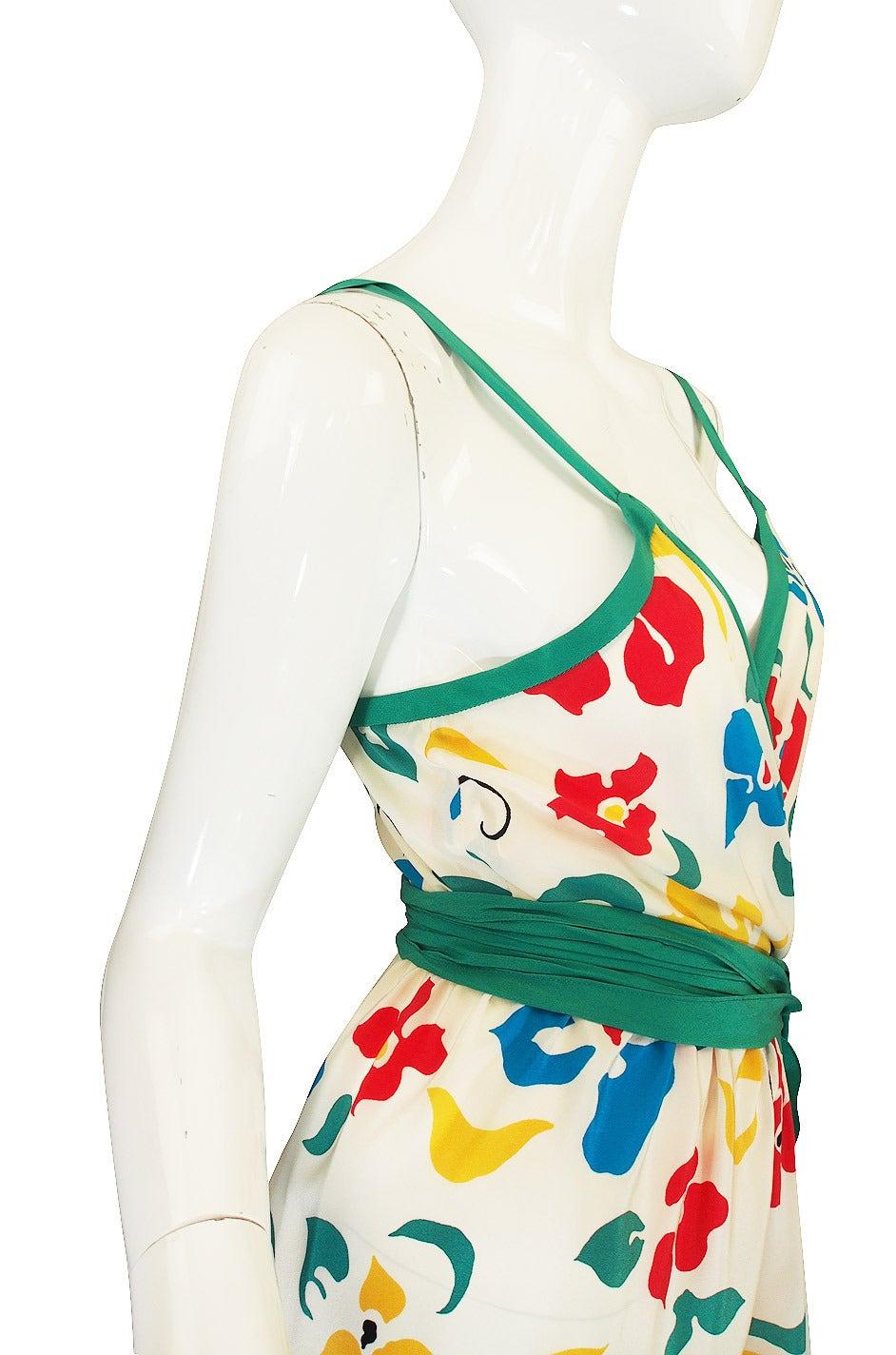 1979 Oscar De La Renta Dress as Seen in Vogue 5