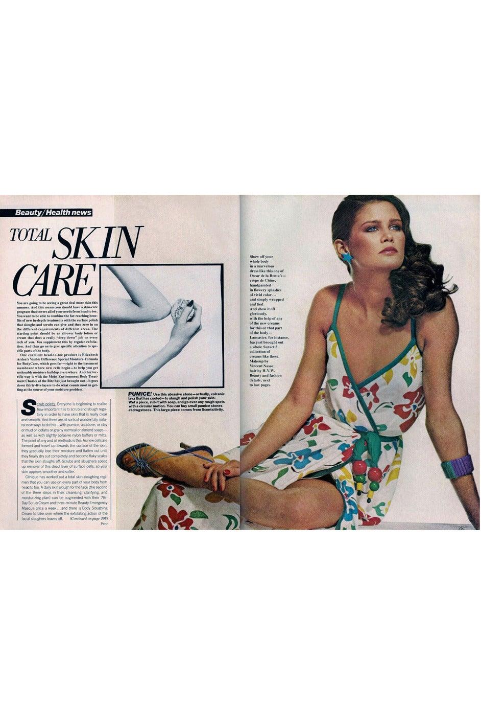 1979 Oscar De La Renta Dress as Seen in Vogue 9