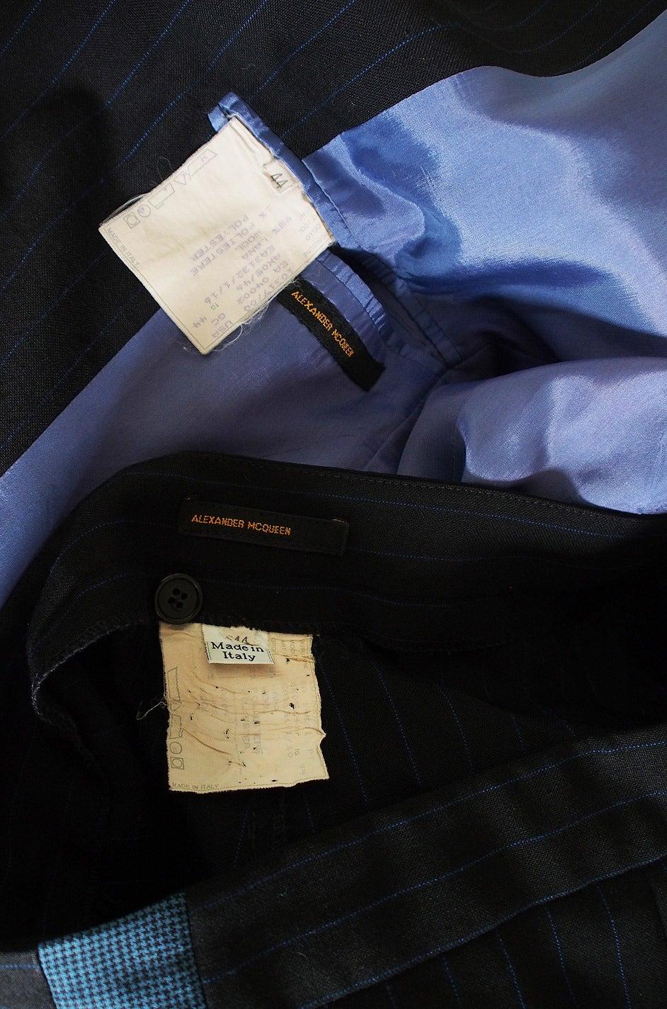 S/S 1998 Alexander McQueen 'The Golden Shower' Suit 9
