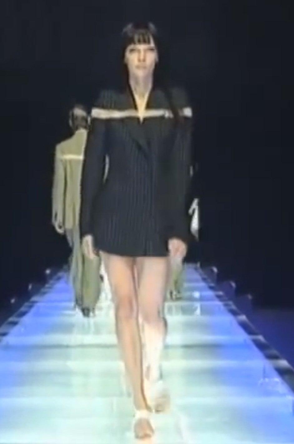 S/S 1998 Alexander McQueen 'The Golden Shower' Suit 10
