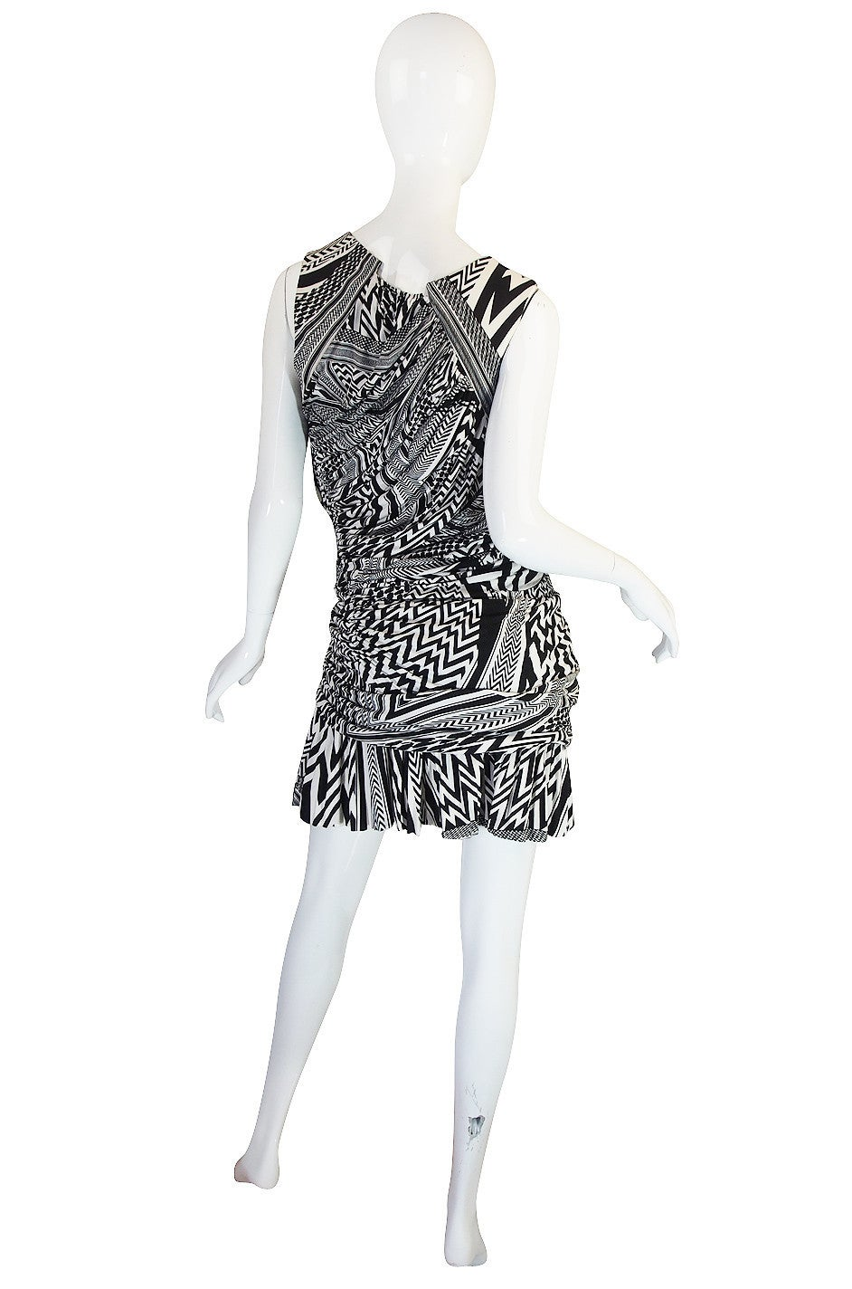 S/S 2010 Givenchy Tribal Print Mini Dress NWT 2