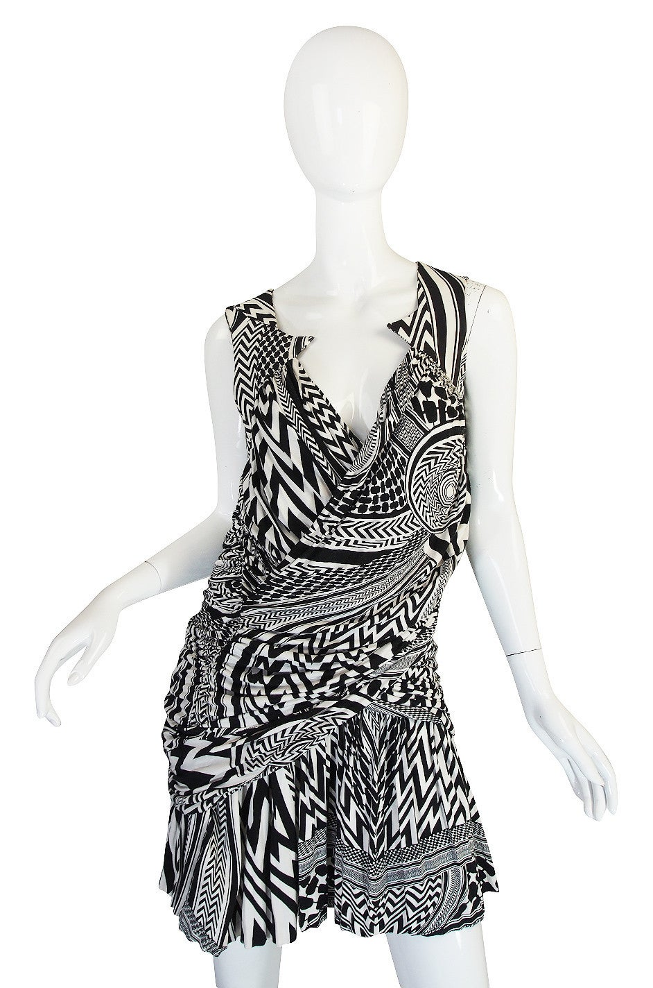 S/S 2010 Givenchy Tribal Print Mini Dress NWT 3