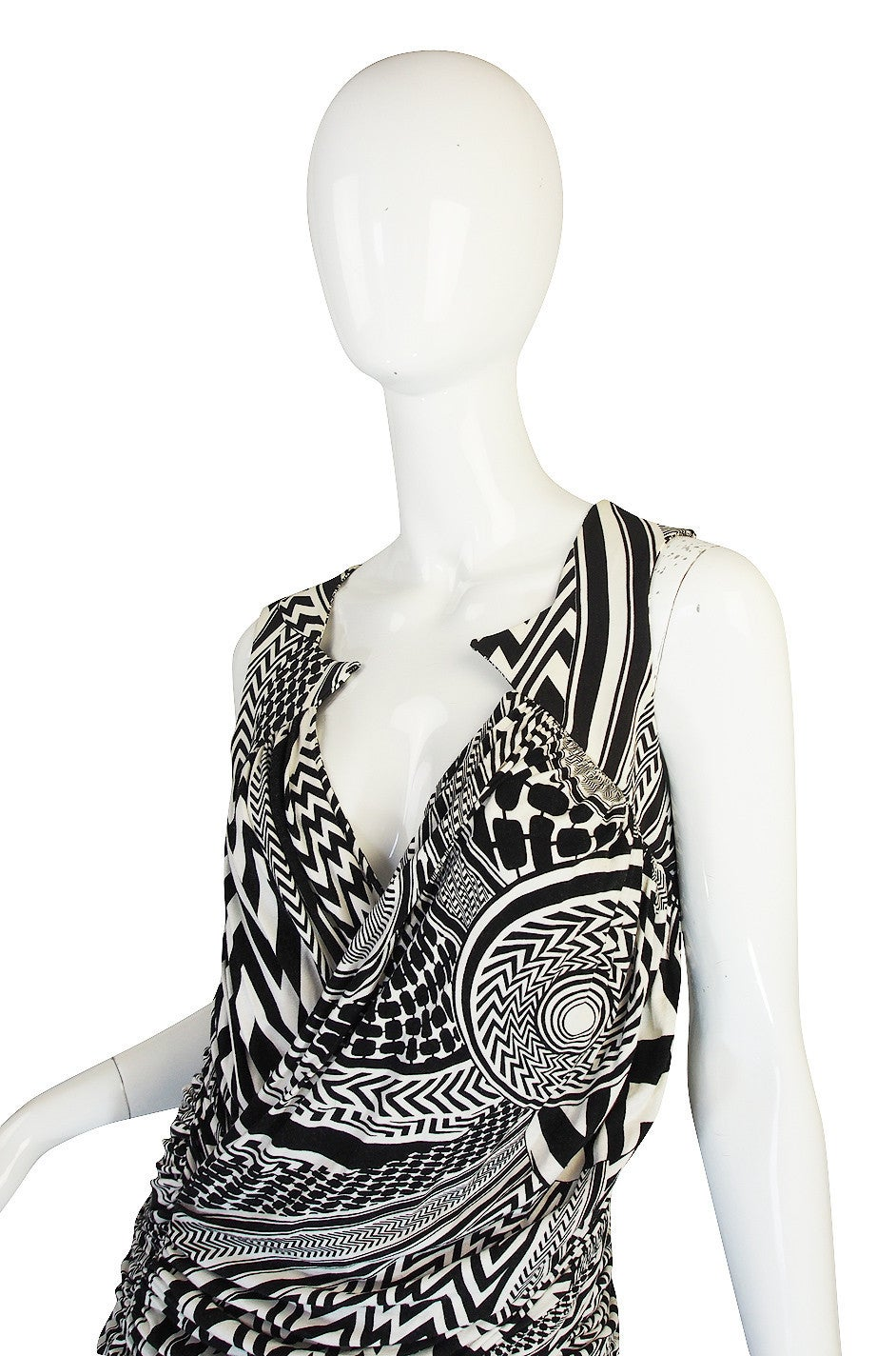 S/S 2010 Givenchy Tribal Print Mini Dress NWT 5