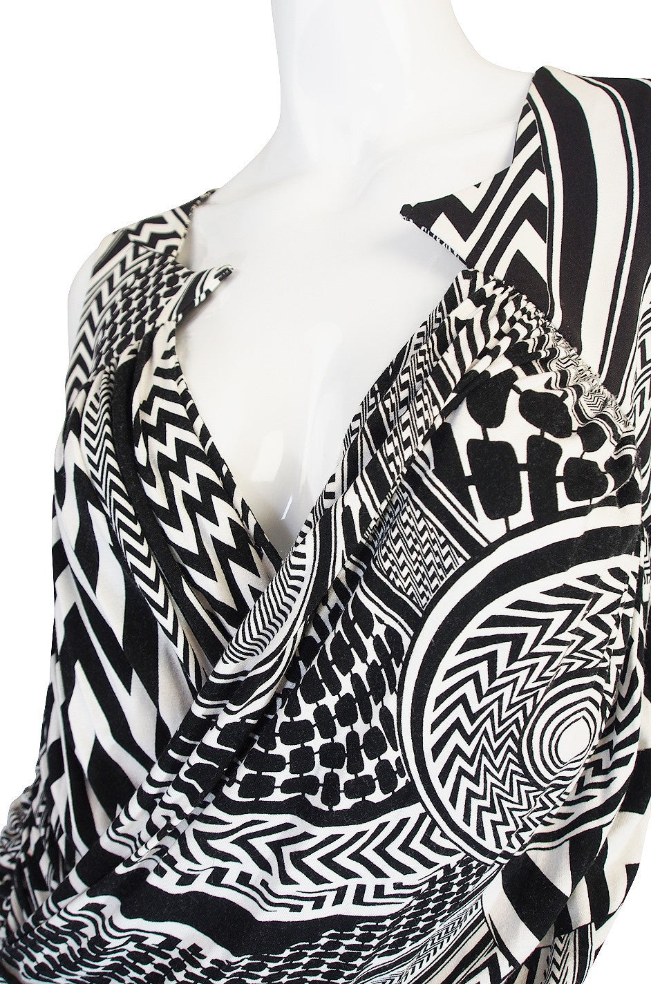 S/S 2010 Givenchy Tribal Print Mini Dress NWT 7
