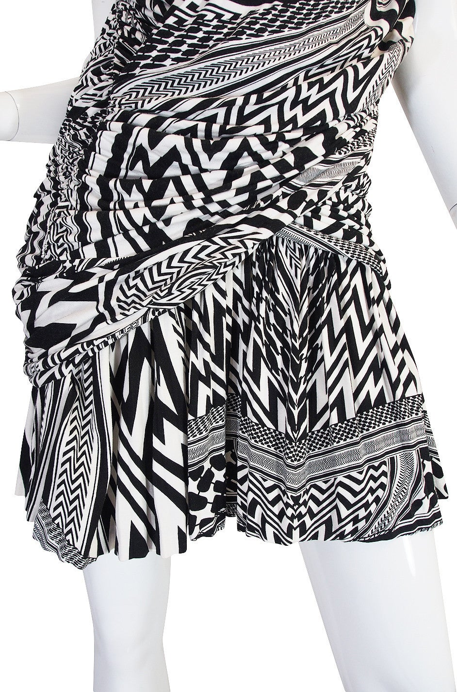 S/S 2010 Givenchy Tribal Print Mini Dress NWT 8