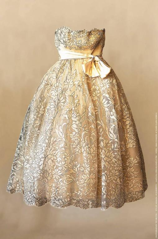 Important S S 1959 Haute Couture Ysl For Christian Dior