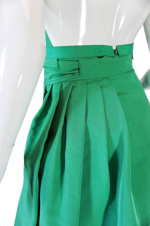 1960s Pauline Trigere Backless Structured Halter & Skirt Dress Set 8