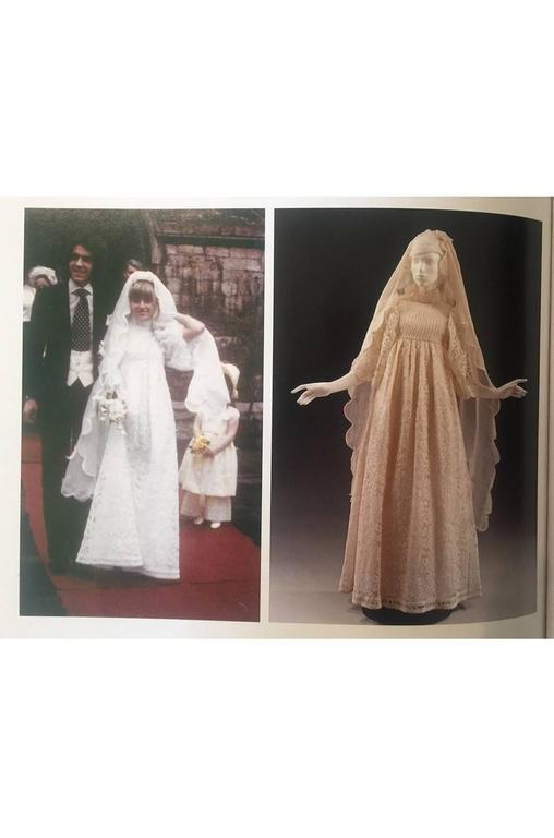 c1968-1970 Embroidered Thea Porter Silk Caftan 'Faye' Dress 10