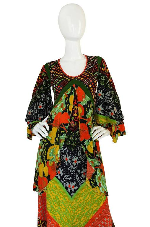 Museum Held F/W 1971 Giorgio di Sant'Angelo Medieval Dress 3
