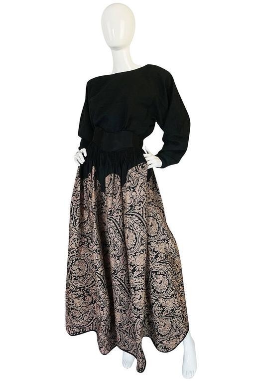 1980s Geoffrey Beene Full Scalloped Skirt & Top Set 3
