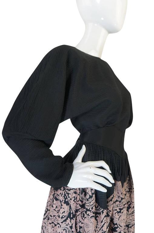 1980s Geoffrey Beene Full Scalloped Skirt & Top Set 6