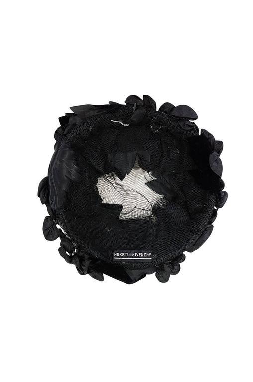 1950s Rare Hubert de Givenchy Couture Silk Hat 5