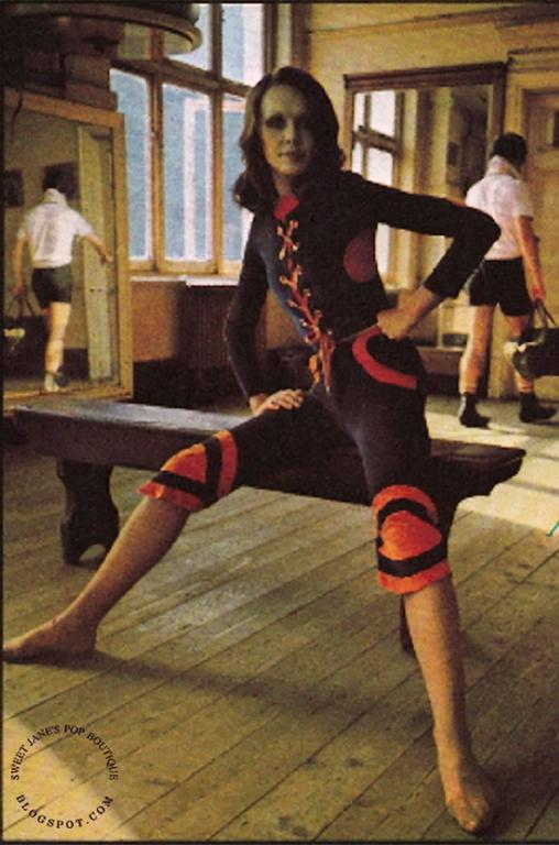 Iconic 1971 Diana Crawshaw For Mr Freedom Baseball Suit