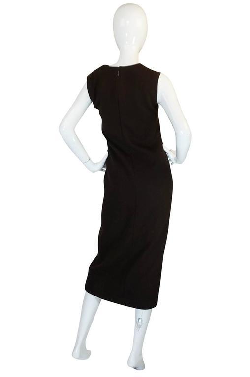1969-1970 Haute Couture Pierre Cardin Cut Out Dress 2