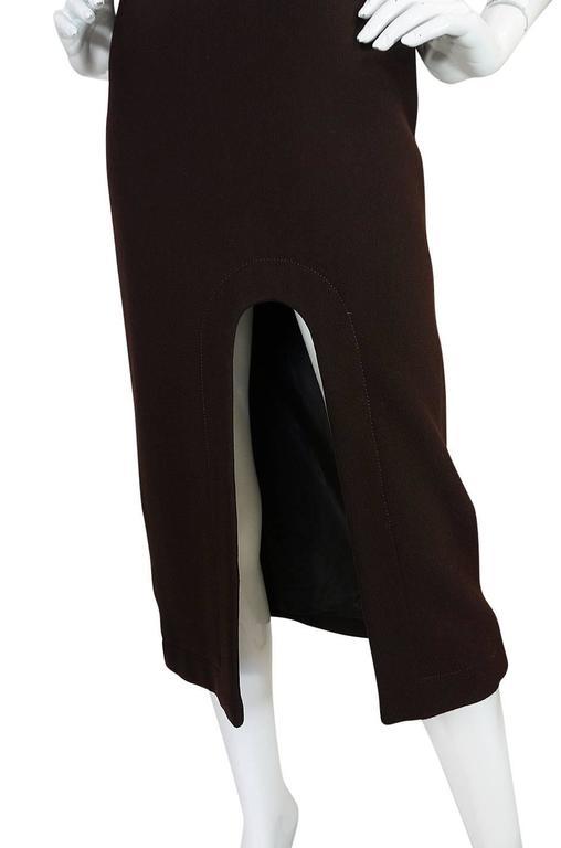 1969-1970 Haute Couture Pierre Cardin Cut Out Dress 6