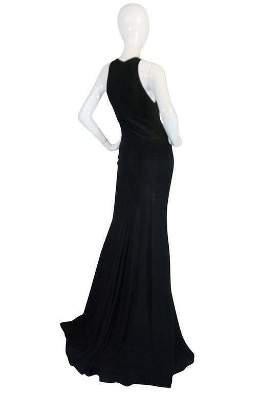 Important Late 1980s Azzedine Alaia Supermodel Length Dress 2
