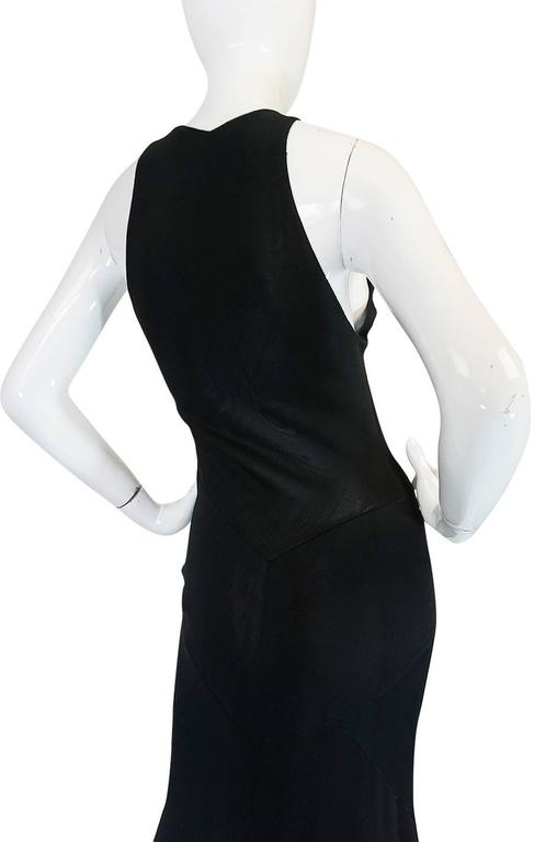 Important Late 1980s Azzedine Alaia Supermodel Length Dress 8