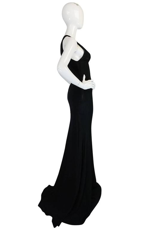 Important Late 1980s Azzedine Alaia Supermodel Length Dress 4