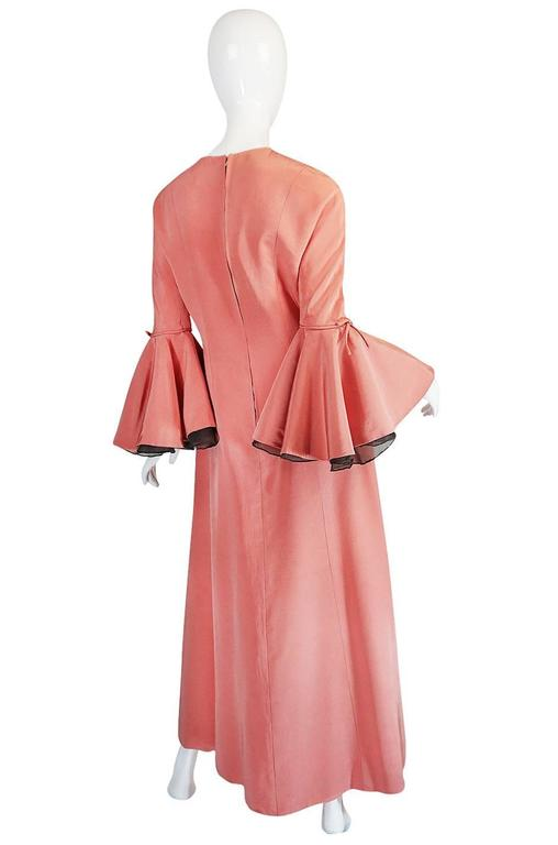 Sybil Connolly pieces are very rare things to find and this particular dress with its museum held illustration  that gives us the name of the dress is a treat. The Hunt Museum in Limerick, Ireland has a large collection of her sketches and the