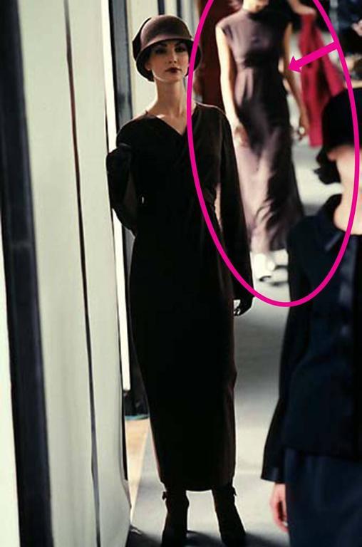 Documented F/W 1998 Chanel Runway Two Piece Dress Set 10
