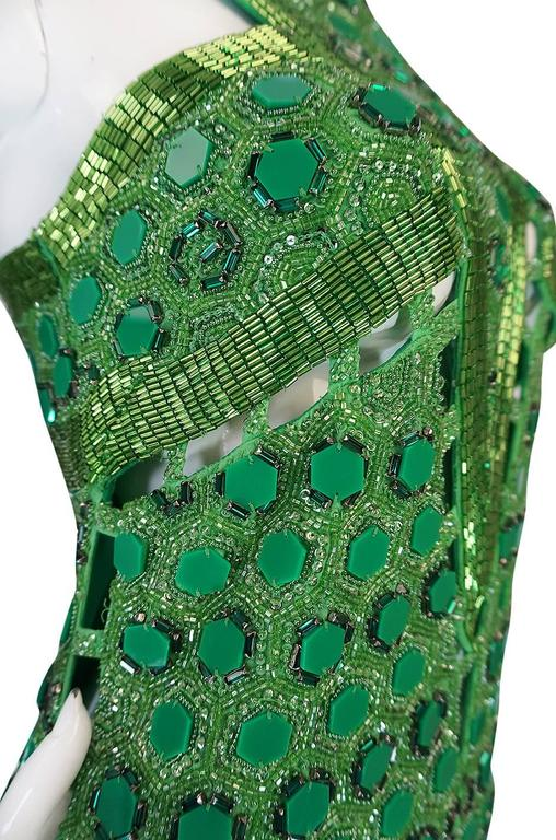 OOAK 2015 Peter Dundas for Pucci Beaded Press Sample Dress For Sale 1