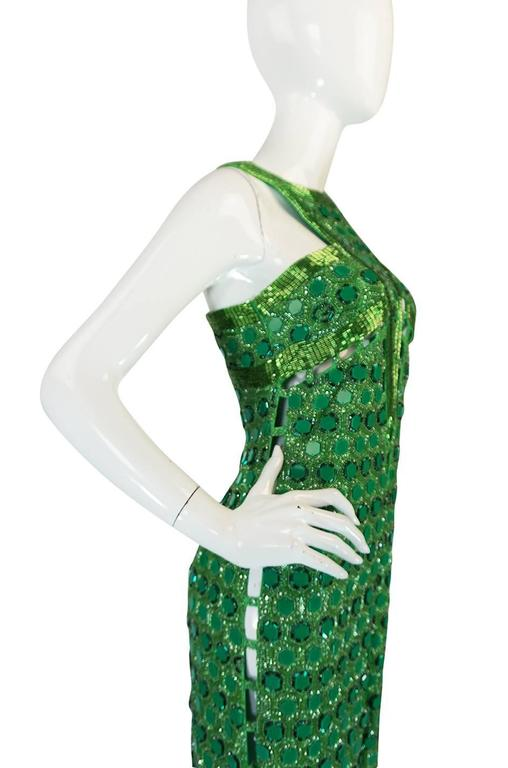 OOAK 2015 Peter Dundas for Pucci Beaded Press Sample Dress For Sale 2